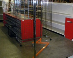 Rolling Storage Z-Racks