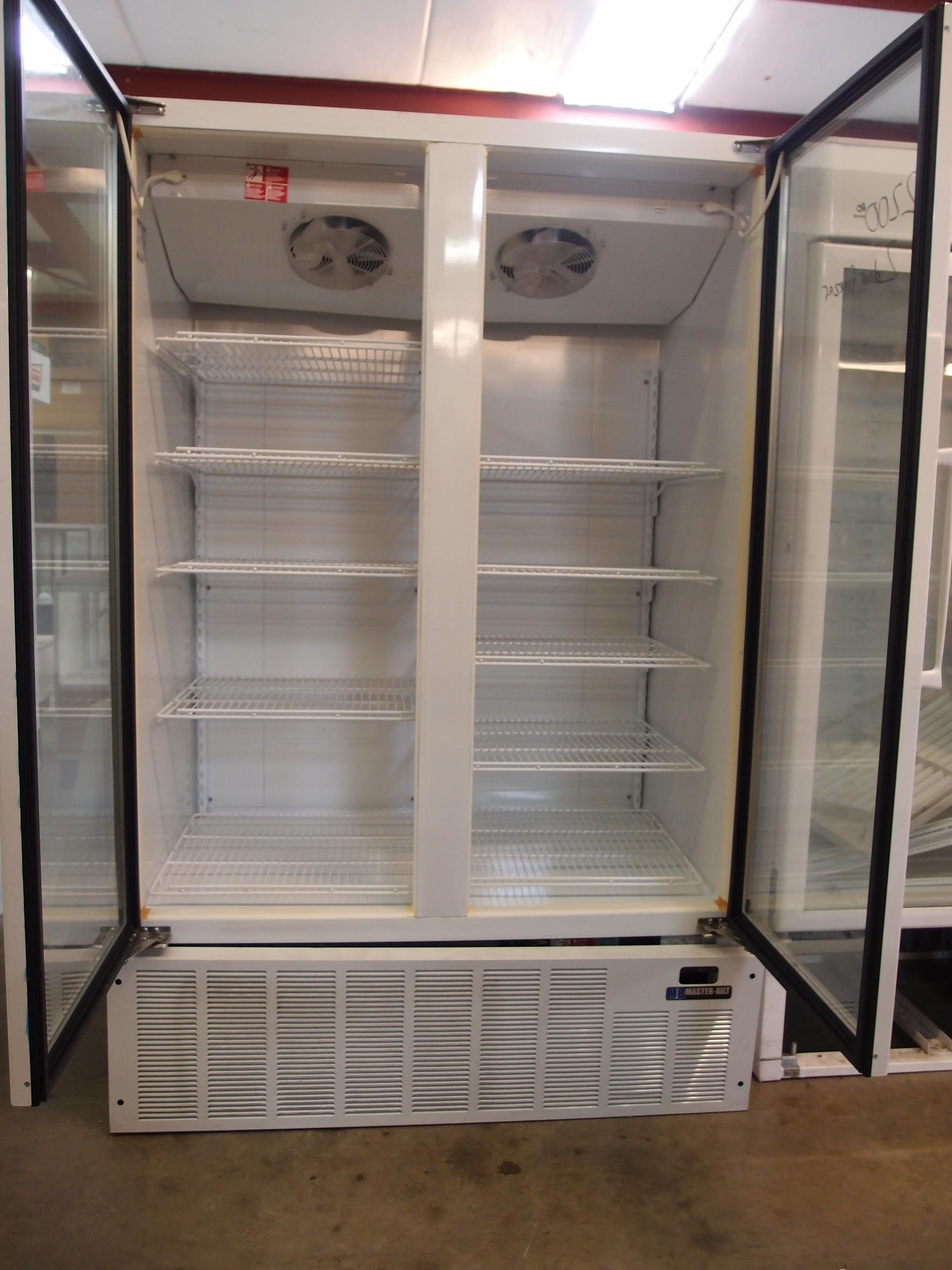 2 Door Freezer Reeves Store Fixtures