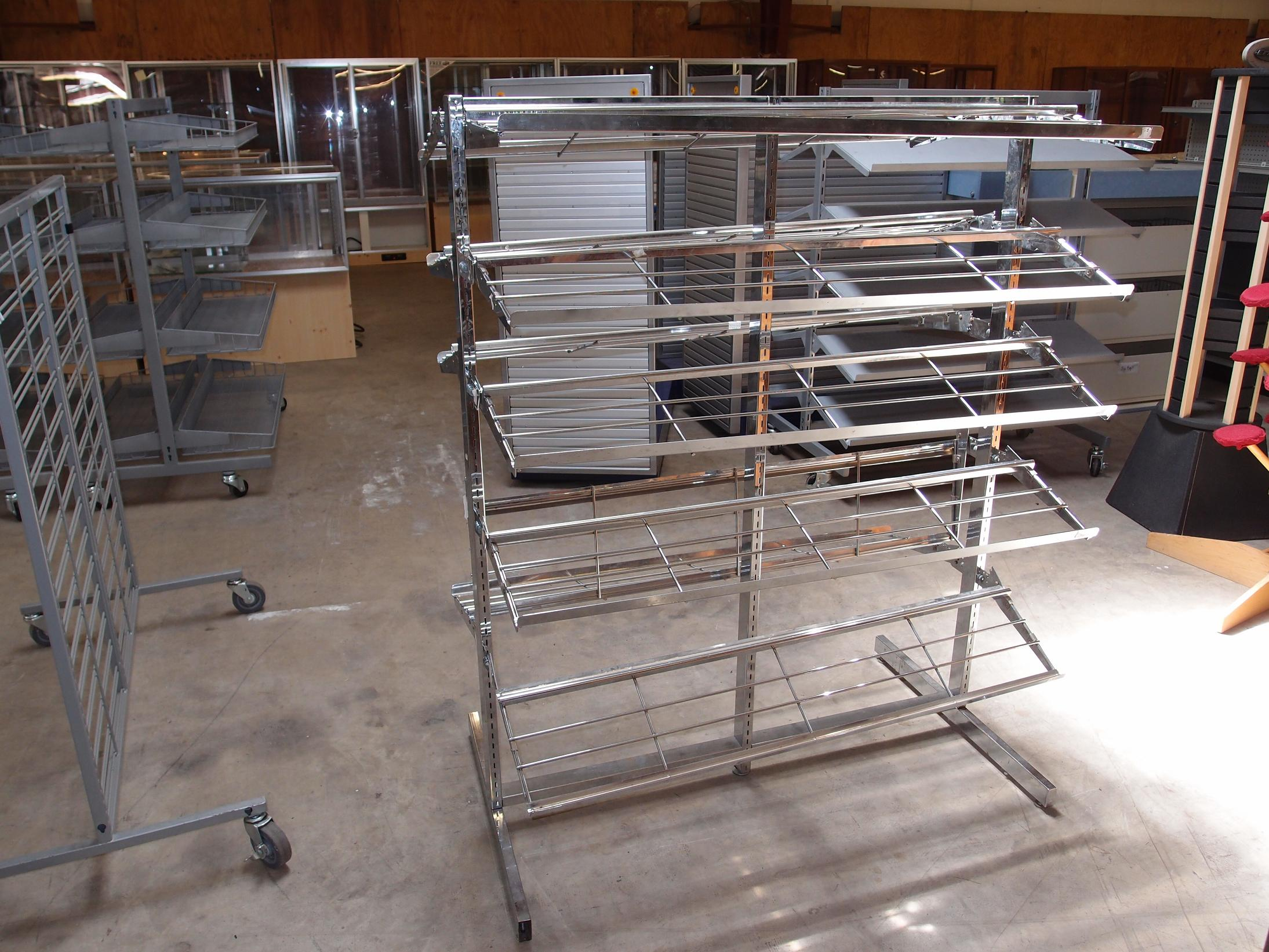 Used Shoe Racks Reeves Store Fixtures