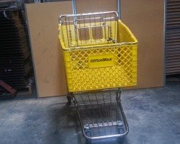 Plastic Shopping Cart Front